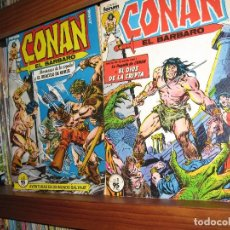 Cómics: CONAN EL BÁRBARO - DEL 1 AL 213 - COMPLETA - CON LOS 3 ESPECIALES - FORUM - PRÁCTICAMENTE NUEVOS. Lote 80233945