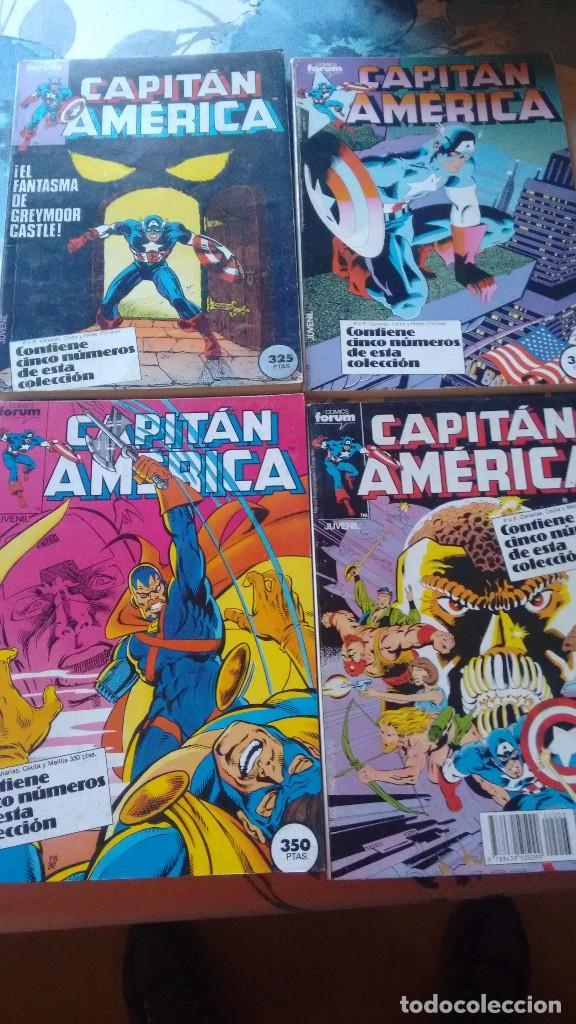 Cómics: CAPITAN AMERICA RETAPADOS DEL 1 AL 76 COMPLETA COMPLETO DIFICILISIMA DE CONSEGUIR ASI MAS ESPECIAL - Foto 5 - 80360385