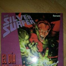 Cómics: SILVER SURFER - EL DIA DEL JUICIO - STAN LEE JOHN BUSCEMA - ESTELA PLATEADA - FORUM. Lote 80416326