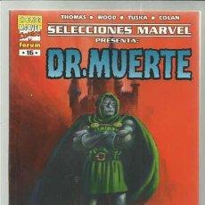 Cómics: SELECCIONES MARVEL 16: DR. MUERETE, EL DÍA DE MUERTE, 2001, MUY BUEN ESTADO.. Lote 221944015