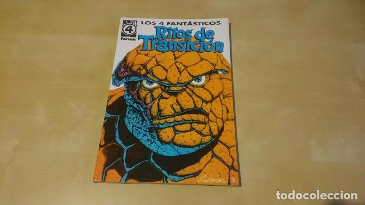 LOS 4 FANTASTICOS - RITOS DE TRANSICION - TOMO 1 (Tebeos y Comics - Forum - 4 Fantásticos)