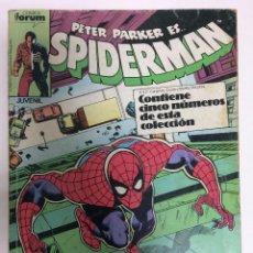 Cómics: RETAPADO SPIDERMAN VOL.1 (161-165) ED. FORUM. Lote 81399692