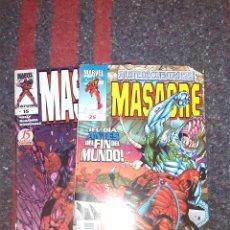 Cómics: MASACRE NºS 15 Y 25. Lote 81684616