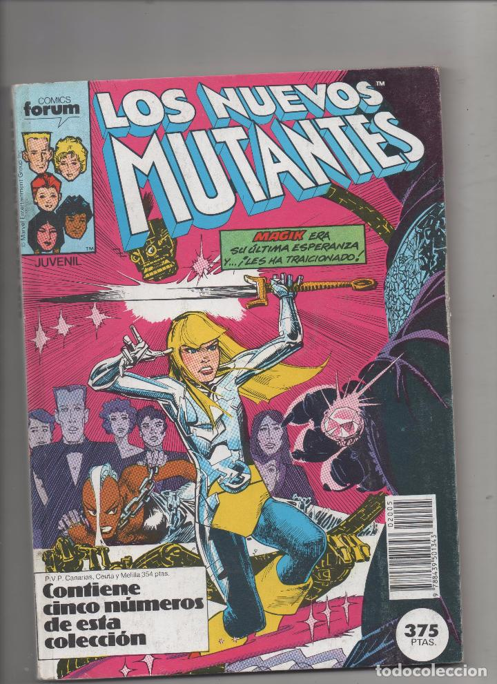 LOS NUEVOS MUTANTES - RETAPADO 36 AL 40 - FORUM.DA (Tebeos y Comics - Forum - Nuevos Mutantes)