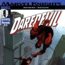 Cómics: MARVEL KNIGHTS DAREDEVIL VOL. 1 Nº 45 - FORUM. Lote 81954244