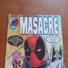 Cómics: MASACRE Nº 5 FORUM ( VOLUMEN 3 ) . Lote 81976332