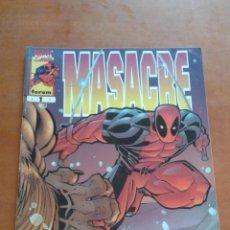 Cómics: MASACRE Nº 1 FORUM ( VOLUMEN 3 ) . Lote 81976408