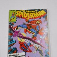 Cómics: PETER PARKER ES...SPIDERMAN - RETAPADO 5 NUMEROS: - 56, 57, 58, 59 Y 60 MARVEL COMICS FORUM. TDKC22. Lote 82082176