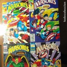 Cómics: LOS INVASORES SERIE LIMITADA DE FORUM VOL1 COMPLETA 4 COMICS. Lote 82164960