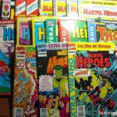 Cómics: LOTE 16 EXTRAS COLECCION MARVEL HEROES VOL 1 DE FORUM CASI COMPLETA SOLO FALTA 1. Lote 82185764