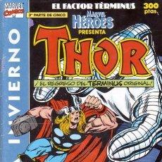 Cómics: MARVEL HÉROES EXTRA INVIERNO 1991 - FORUM. THOR.. Lote 151309754