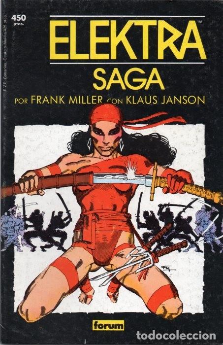 COLECCIÓN PRESTIGIO VOL.1 Nº 4 - FORUM. ELEKTRA SAGA TOMO 1. FRANK MILLER. (Tebeos y Comics - Forum - Daredevil)