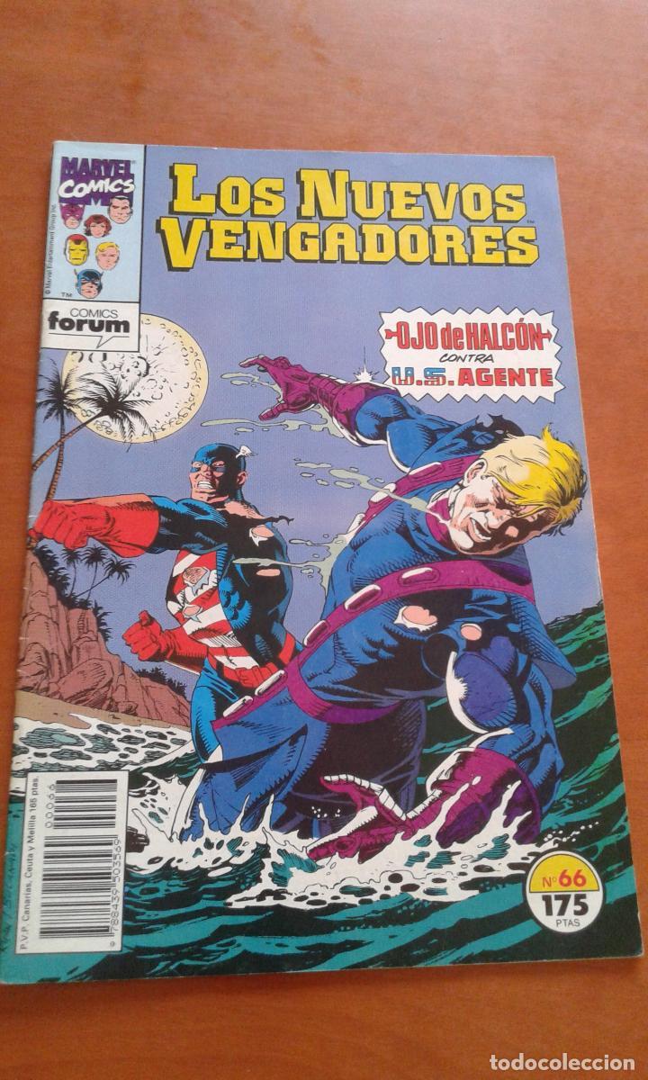 LOS NUEVOS VENGADORES Nº 66 ( FORUM ) (Tebeos y Comics - Forum - Vengadores)