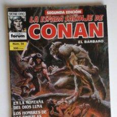 Cómics: LA ESPADA SALVAJE DE CONAN Nº 26, CON BUSCEMA, BRUNNER, ALEX NIÑO...MUY BUENO!. Lote 82523472