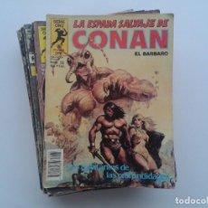 Cómics: LOTE 21 COMICS, LA ESPADA SALVAJE DE CONAN EL BARBARO. Lote 82711508