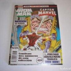 Cómics: IRON MAN & CAPITAN MARVEL - RETAPADO 3 NUMEROS (47-48-49) COMICS FORUM -- NUEVO SIN ABRIR. Lote 82770940