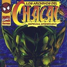 Cómics: LOS ARCHIVOS DEL CHACAL. ESPECIAL SPIDERMAN. - EJEMPLAR NUEVO. Lote 82852360