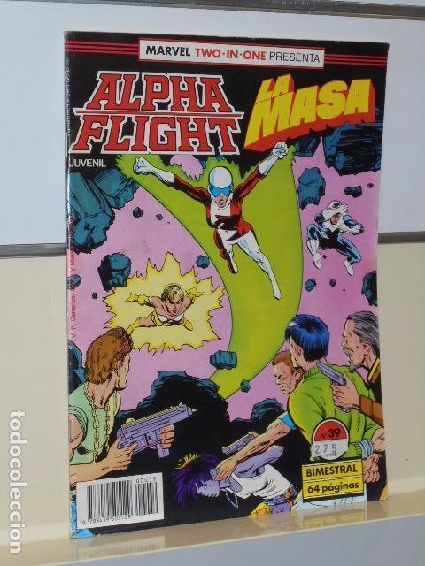 ALPHA FLIGHT VOL. 1 Nº 39 FORUM (Tebeos y Comics - Forum - Alpha Flight)