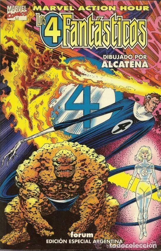 Cómics: 4 FANTASTICOS MARVEL ACTION HOUR EN ESPAÑOL (CAVALIERI / ALCATENA) - Foto 1 - 83289624