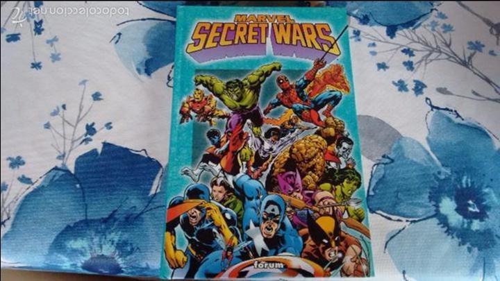 MARVEL SECRET WARS 1 AL 12 COMPLETA (Tebeos y Comics - Forum - Prestiges y Tomos)