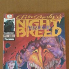 Cómics: RAZAS DE NOCHE Nº 5 ( CLIVE BARKER'S NIGHT BREED ) COMICS FORUM. Lote 83355488