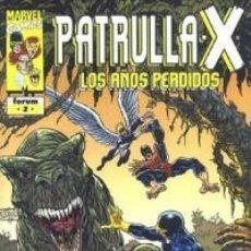 Cómics: PATRULLA X LOS AÑOS PERDIDOS Nº 2 IMPECABLE. Lote 83489052