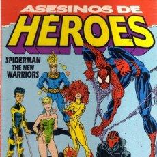 Cómics: ASESINOS DE HEROES - SPIDERMAN THE NEW WARRIORS ALBUM ESPECIAL EXTRA INVIERNO - FORUM. Lote 183772608