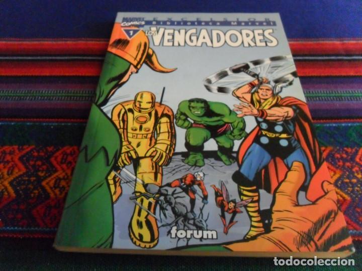 BIBLIOTECA MARVEL EXCELSIOR LOS VENGADORES Nº 1. FORUM 1999. BUEN ESTADO. (Tebeos y Comics - Forum - Vengadores)