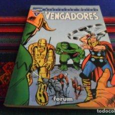 Cómics: BIBLIOTECA MARVEL EXCELSIOR LOS VENGADORES Nº 1. FORUM 1999. BUEN ESTADO.. Lote 83856172