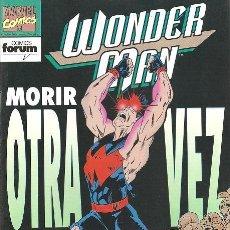 Cómics: WONDER MAN 1 A 9 FORUM MAS ESPECIAL VERANO 1993 FORUM. HOMBRE MARAVILLA. VENGADORES.. Lote 83879372