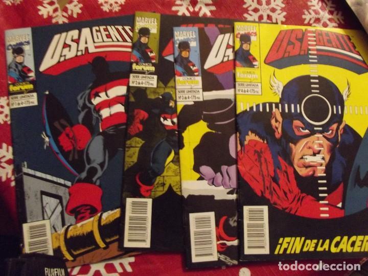 MINISERIE EL USAGENTE COMPLETA 4 NUMEROS (Tebeos y Comics - Forum - Capitán América)