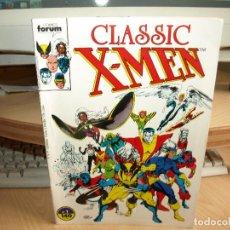Cómics: CLASSIC X-MEN - LOTE DE LOS LOS PRIMEROS 34 NÚMEROS - A FALTA DE UN NÚMERO - FORUM. Lote 84261232