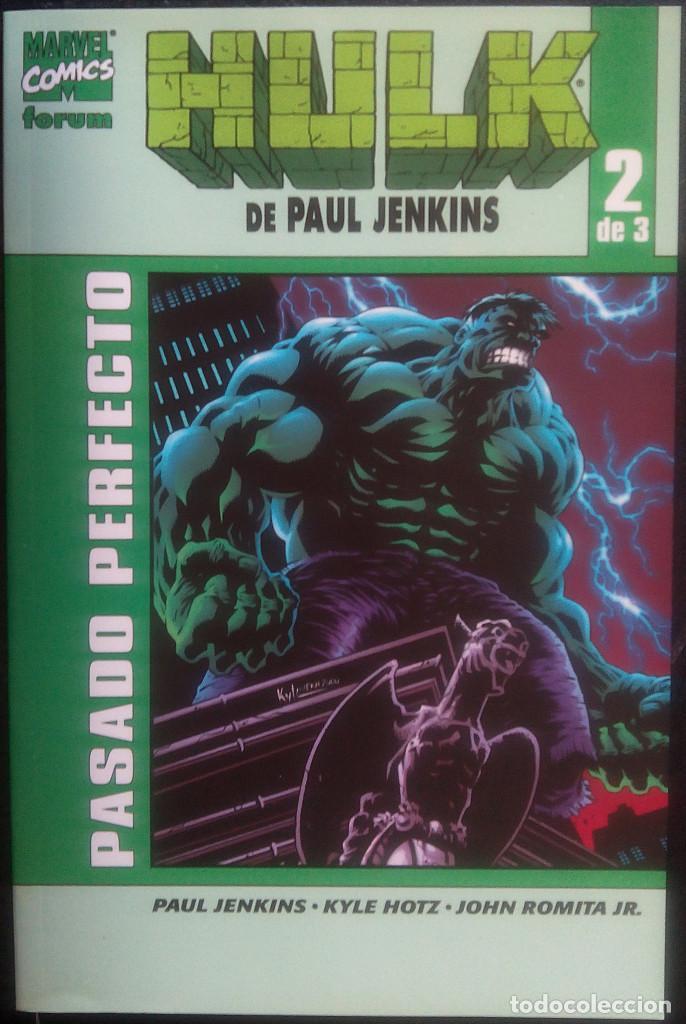 Cómics: HULK COMPLETA DE 3 NÚm PAUL JENKINS MARVEL - FORUM Crimen desorganizado Pasado perfecto Escalera de - Foto 2 - 84317564