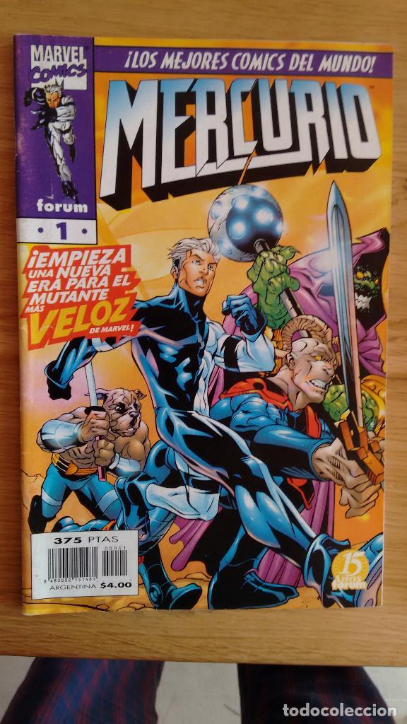MERCURIO FORUM Nº 1 (Tebeos y Comics - Forum - Otros Forum)