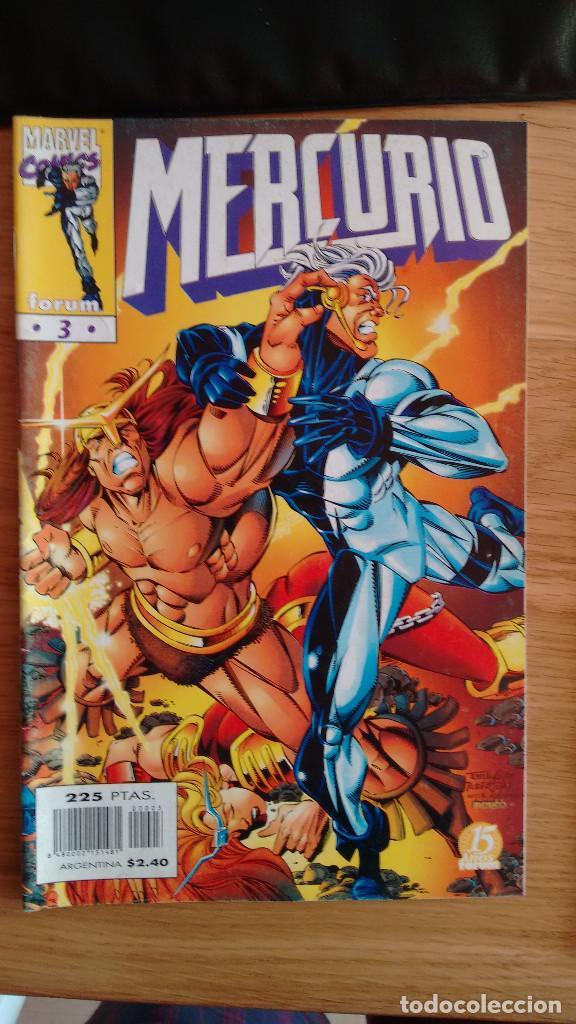 MERCURIO FORUM Nº 3 (Tebeos y Comics - Forum - Otros Forum)