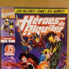 Cómics: HEROES DE ALQUILER FORUM Nº 5 LAZOS ROTOS PRIMERA PARTE. Lote 84494360