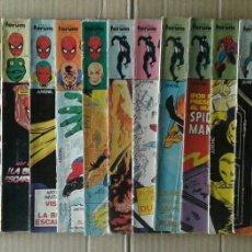 Cómics: LOTE SPIDERMAN (COMICS FORUM): 84 NÚMEROS ENTRE EL 57 Y EL 299 (VER DESCRIPCIÓN). Lote 84500783