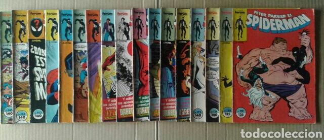 Cómics: Lote Spiderman (Comics Forum): 84 números entre el 57 y el 299 (ver descripción) - Foto 2 - 84500783