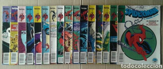 Cómics: Lote Spiderman (Comics Forum): 84 números entre el 57 y el 299 (ver descripción) - Foto 5 - 84500783