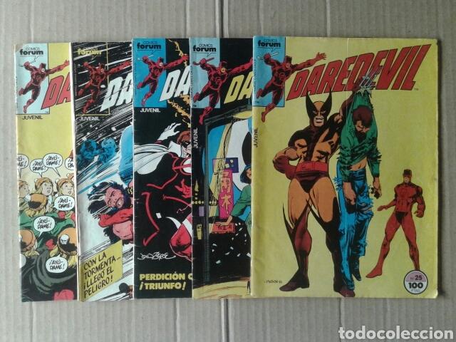 LOTE DAREDEVIL, NÚMEROS 25, 26, 30, 32 Y 34. COMICS FORUM. TAMBIÉN SE VENDEN POR SEPARADO. (Tebeos y Comics - Forum - Daredevil)