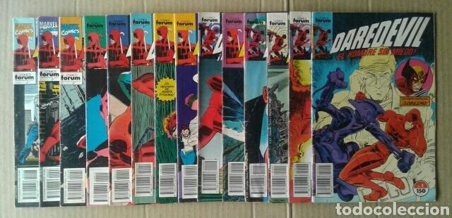 LOTE DAREDEVIL, EL HOMBRE SIN MIEDO. NÚMEROS 2, 3, 4, 7, 8, 9, 10, 11, 14, 15 Y 26. (Tebeos y Comics - Forum - Daredevil)