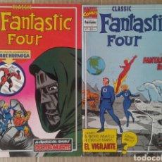 Cómics: LOTE CLASSIC FANTASTIC FOUR, NÚMEROS 7 Y 8, DE STAN LEE Y JACK KIRBY. COMICS FORUM.. Lote 84503396