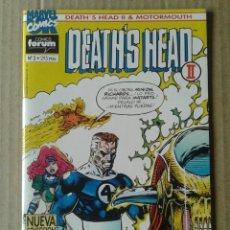 Cómics: DEATH'S HEAD II & MOTORMOUTH N°2. MARVEL UK / COMICS FORUM.. Lote 84503664