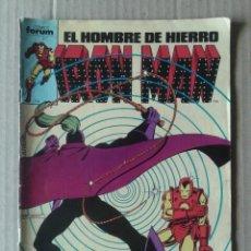 Cómics: EL HOMBRE DE HIERRO / IRON MAN N°5. COMICS FORUM.. Lote 84504934