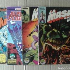 Cómics: LOTE LA MASA / EL INCREÍBLE HULK, NÚMEROS 31, 49, 51 Y EXTRA PRIMAVERA 1991 (CON ALPHA FLIGHT).. Lote 84505120