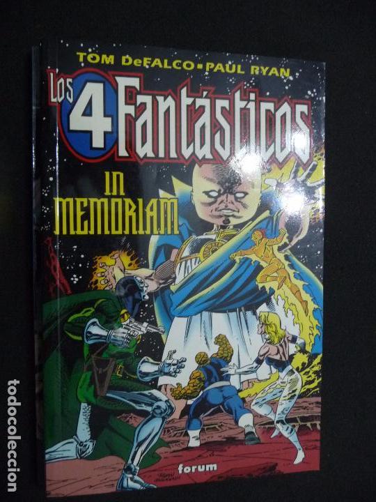LOS 4 FANTÁSTICOS. IN MEMORIAM. TOM DEFALCO/PAUL RYAN. FORUM (Tebeos y Comics - Forum - Prestiges y Tomos)