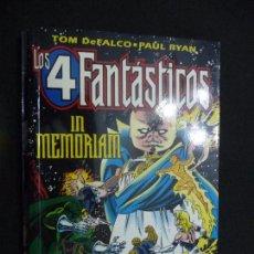 Cómics: LOS 4 FANTÁSTICOS. IN MEMORIAM. TOM DEFALCO/PAUL RYAN. FORUM. Lote 84667588