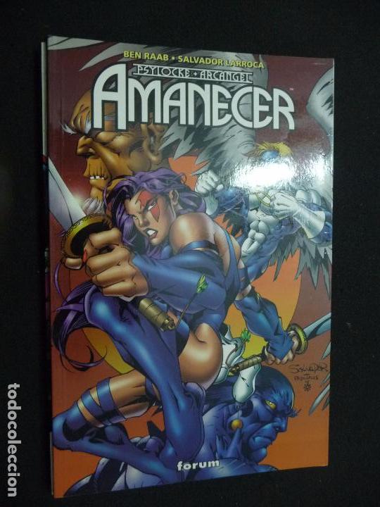 PSYLOCKE & ARCANGEL. AMANECER. TOMO FORUM (Tebeos y Comics - Forum - Prestiges y Tomos)