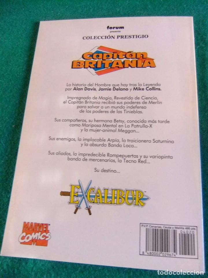 Cómics: EL CAPITAN BRITANIA 2 COLECCION PRESTIGIO Nº 20 FORUM - Foto 2 - 84691552