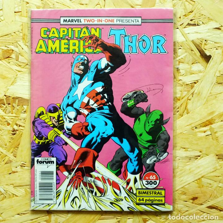 MARVEL TWO IN ONE CAPITAN AMERICA THOR VOL 1 N 65 (Tebeos y Comics - Forum - Capitán América)